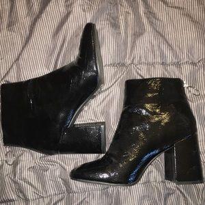 Forever 21 Black Booties with Heel